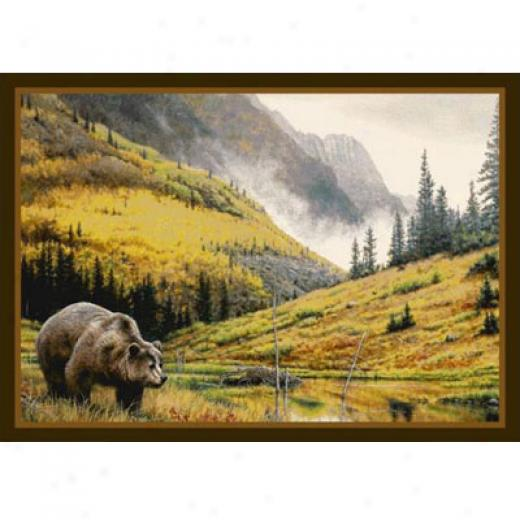 Milliken Hautman Collection 4 X 5 Mountain Grizzly Area Rugs