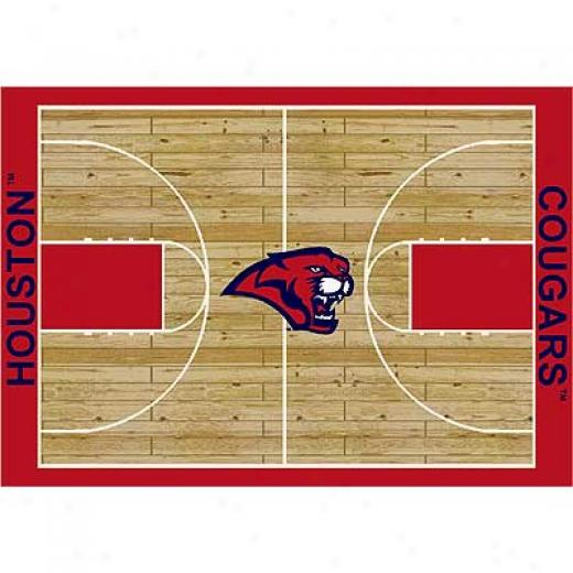 Milliken Houston Cougars 5 X 8 Houston Cougars Area Rugs