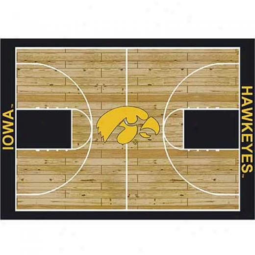 Milliken Iowa Hawkeys 4 X 5 Iowa Hawkeys Area Rugs