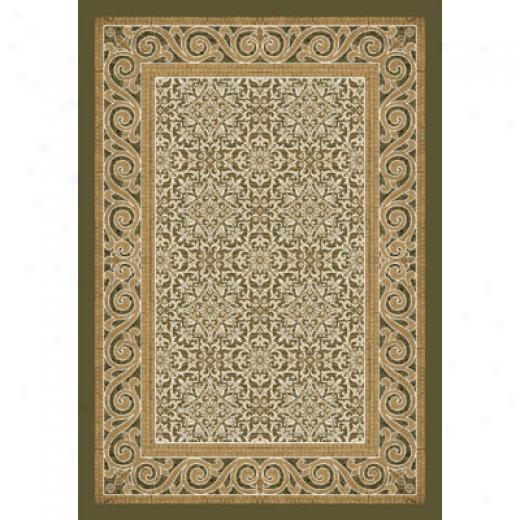 Milliken Italian Court 8 X 8 Square Light Tobacco Area Rugs