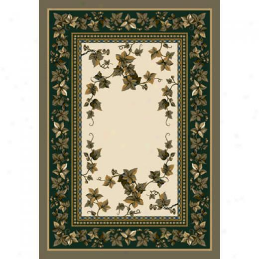 Milliken Ivy Valley 5 X 8 Opal Area Rugs