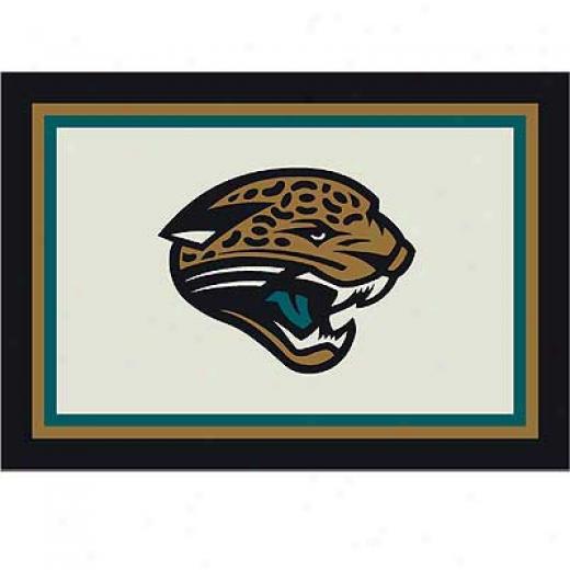 Milliken Jacksonville Jaguars 5 X 8 Jacksonville Jaguars Spirit Area Rugs