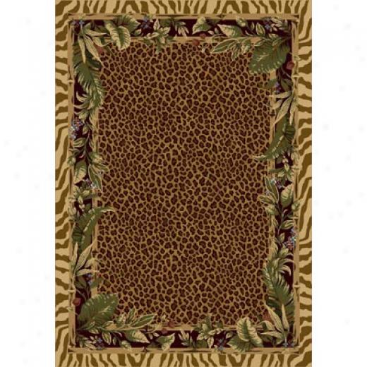Milliken Jungle Safari 4 X 5 Pale Topaz Area Rugs