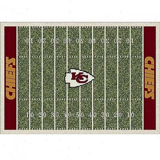 Milliken Kaansas City Chiefs 8 X 11 Kansas City Chiefs Spirit Area Rugs