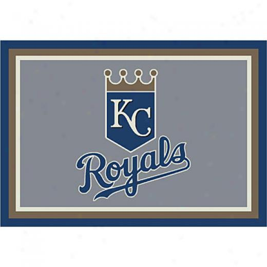 Milliken Kansas City Royals 5 X 8 Kansas City Royals Spirit Area Rugs