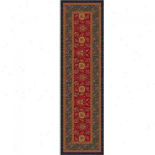 Milliken Karshi 2 X 16 Red Cinnamon Area Rugs