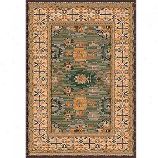 Milliken Karshi 3 X 4 Autumn Forest Area Rugs