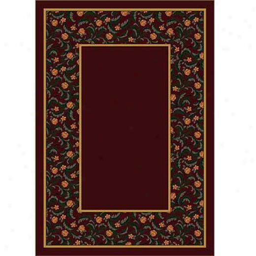 Milliken Latin Rose 2 X 16 Runner Garnet Ii Area Rubs