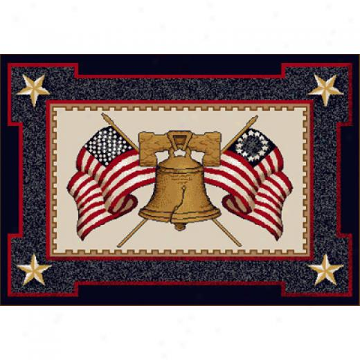 Milliken Let Freedom Ring 3 X 4 Let Freeddom Ring Area Rugs