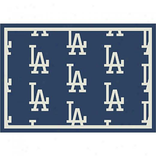 Milliken Los Angeles Dodgers 11 X 13 La Dodgers Repeat Area Rugs