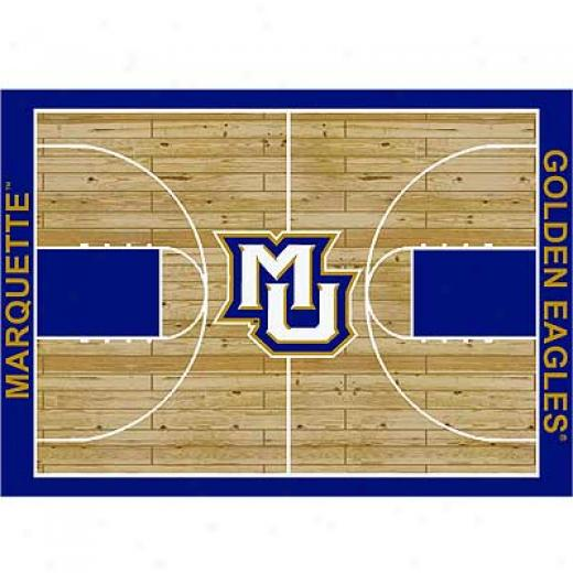 Milliken Marquette Golden Eagles 8 X 11 Marquette Golden Eagle Arew Rugs