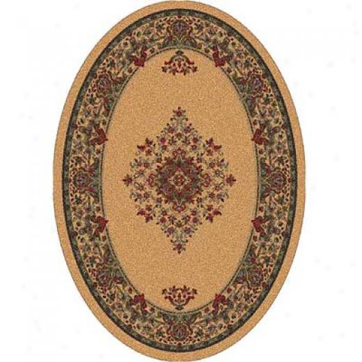 Milliken Merkez 5 X 8 Oval Lost Light Area Rugs