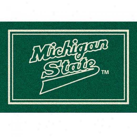 Milliken Michigan State 4 X 5 Michigan State Arae Rugs