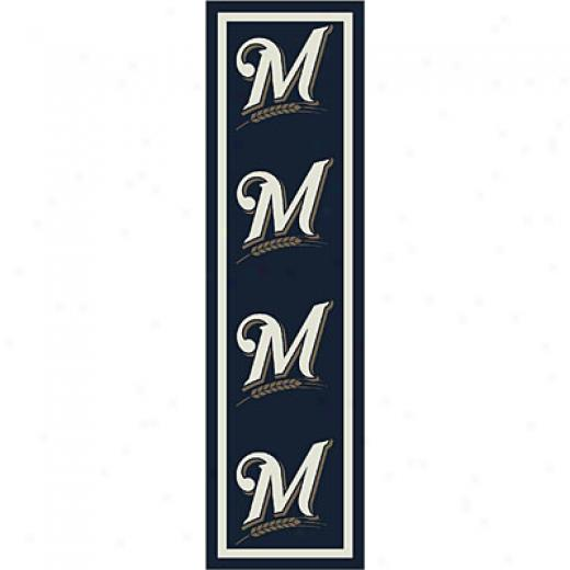 Milliken Milwaukee Brewers Runner Milwaukee Brewers Runner Area Rugs