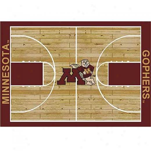Milliken Minnesota Gophers 4 X 5 Minnesota Gophers Area Rugs