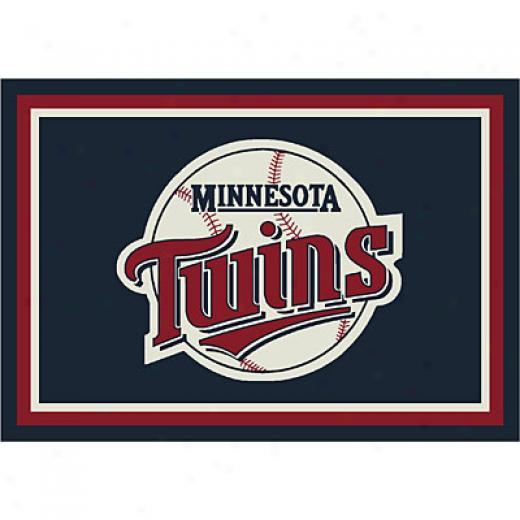 Milliken Minnesota Twins 11 X 13 Minnesota Twins Spirit Area Rugs