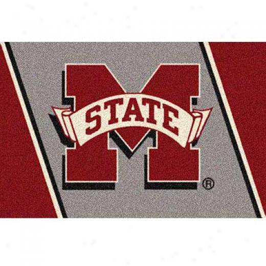 Milliken Mississipp iState 3 X 4 Mississippi State Area Rugs
