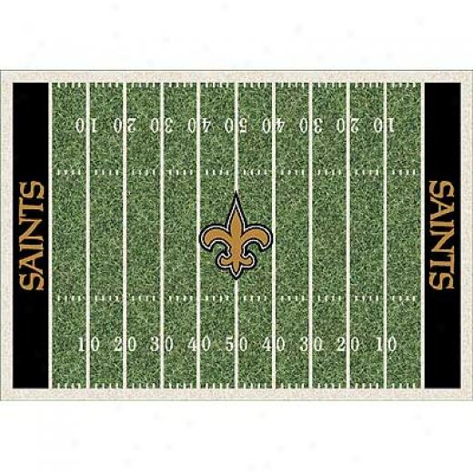 Milliken New Orleans Saints 5 X 8 New Orleans Saints Province Area Rugs