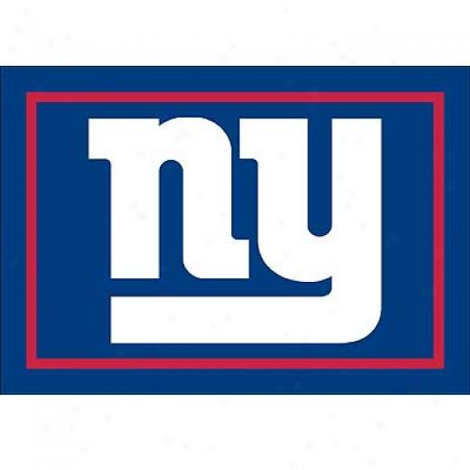 Milliken New York Giants 5 X 8 New York Giants Spirit Area Rugs