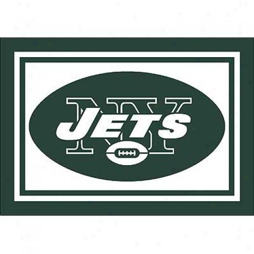 Milliken New York Jets 8 X 11 New York Jets Spirit Area Rugs