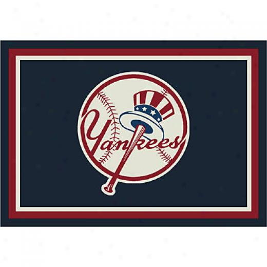 Milliken New York Yankees 8 X 11 New York Yankees Spirit Area Rugs