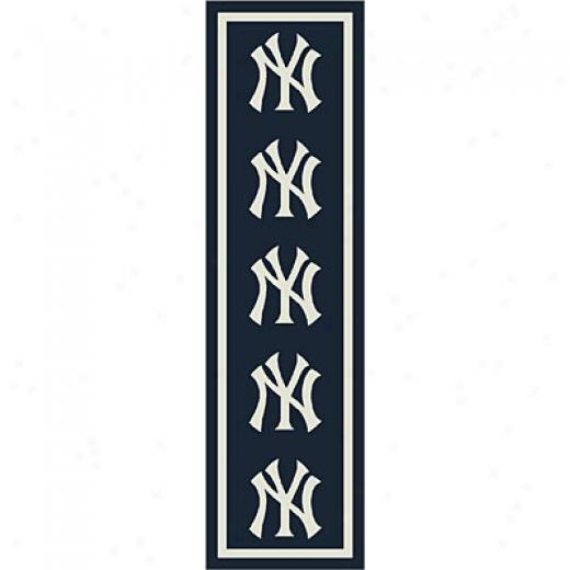 Milliken New Yoro Yankess Runner New York Yankees Runner Area Rugs
