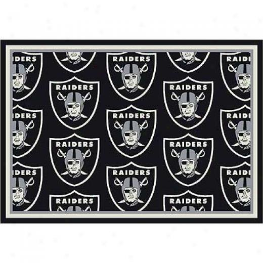 Milliken Oakland Raiders 8 X 11 Oakland Raiders Team Area Rugs