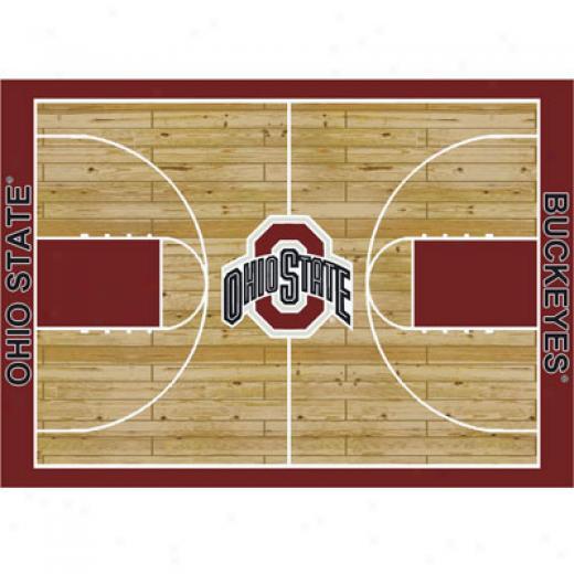 Milliken Ohio State Buckeyes 4 X 5 Ohio State Buckeyes Area Rugs