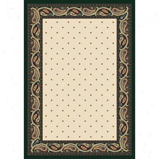 Milliken Paisley 8 X 8 Square Opal Area Rugs