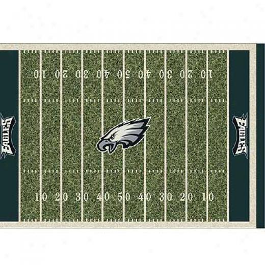 Milliken Philadelphia Eagles 5 X 8 Philadelphia Eagles Spirit Area Rugs
