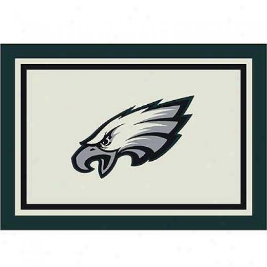 Milliken Philadelphia Eagles 8 X 11 Philadelphia Eagles Spirit Area Rugs