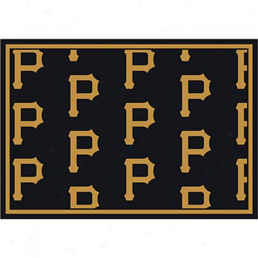 Milliken Pittsburgh Pirates 8 X 11 Pittsburgh Pirates Repeat Area Rugs
