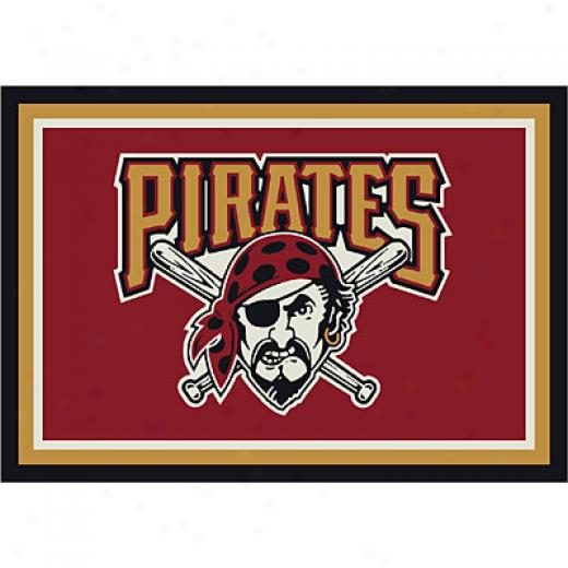 Milliken Pittsburgh Pirates 5 X 8 Pittsburgh Piratez Spirit Area Rugs