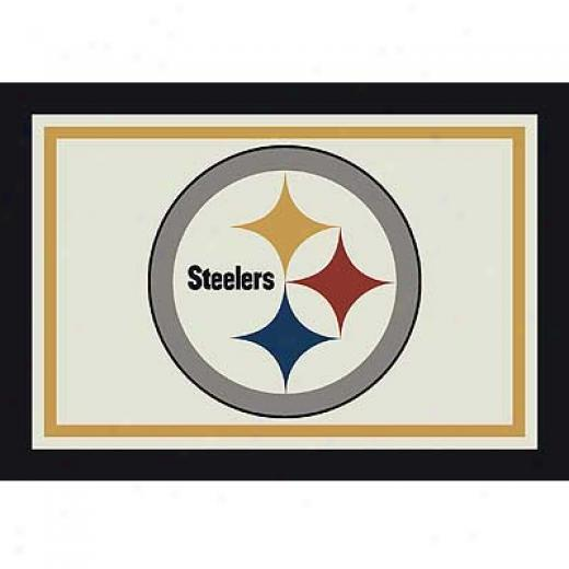 Milliken Pittsburgh Steelers 8 X 11 Pittsburgh Steelers Spirit Area Rugs