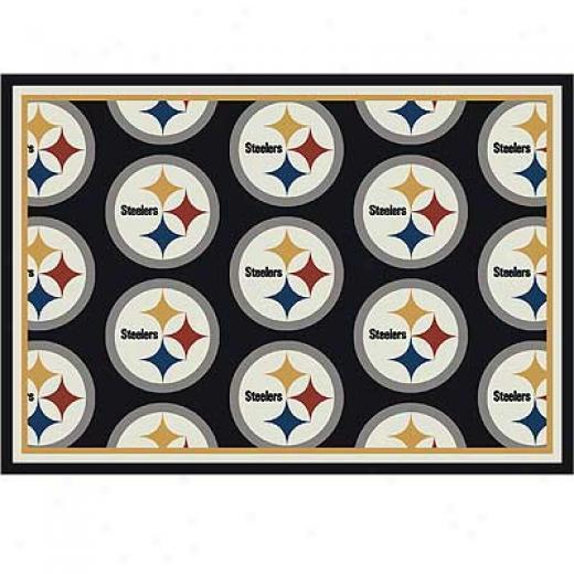 Milliken Pittsburgh Steelers 5 X 8 Pittsburgh Steelers Team Area Rugs