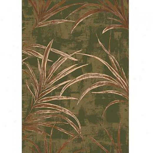 Milliken Rainforest 3 X 4 Deep Olive Area Rugs