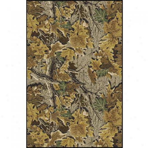 Milliken Realtree Colledtion 5 X 8 Advantage Dense Camo Area Rugs