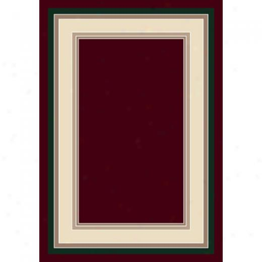 Milliken Remington 3 X 4 Garnet Area Rugs