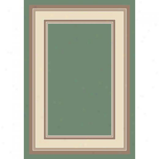 Milliken Remington 8 Round Peridot Area Rugs