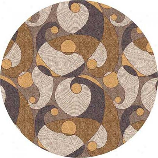 Milliken Remous 8 Round Stucco Area Rugs