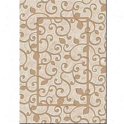 Milliken Rotollo 8 X 11 Pearl Mist Antique Area Rugs