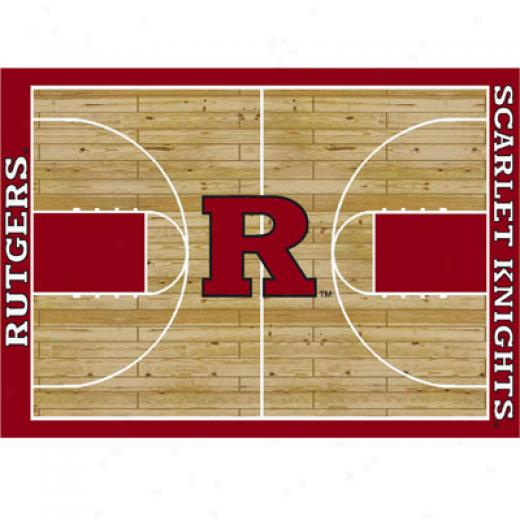 Milliken Rutgers Scarlet Knights 8 X 11 Rutgers Scarlet Knights Area Rugs