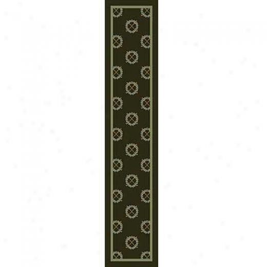 Milliken Rutherford 2 X 12 Runner Olive Area Rugs