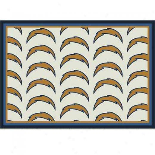 Milliken San Diego Chargers 11 X 13 San Diego Chargers Team Area Rugs