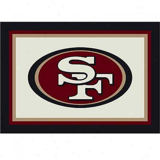 Milliken San Fransisco 49ers 5 X 8 San Fransico 49ers Spirit Area Rugs