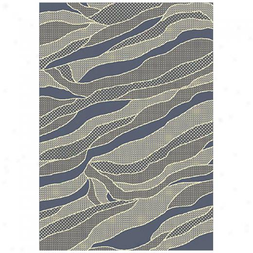 Milliken Sand Dune 8 X 11 Lapis Antique Area Rugs