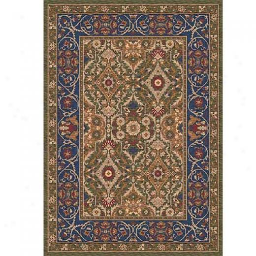 Milliken Sandakan 4 X 5 Autumn Green Area Rugs