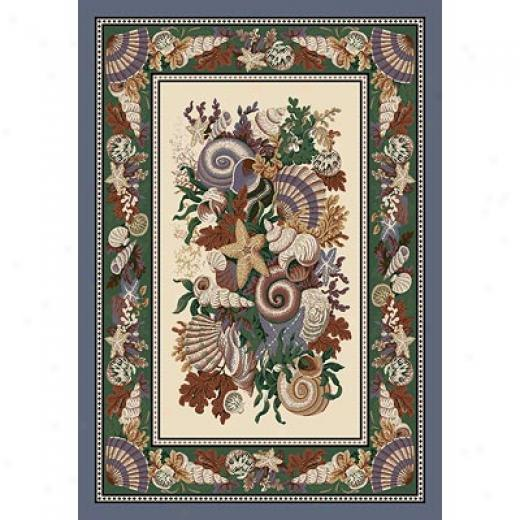 Milliken Seasonal - Summer 3 X 4 Neptune Area Rugs