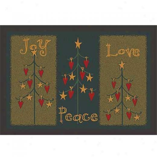Milliken Seasonal - Winter 4 X 5 Folktree - Winter Area Rugs