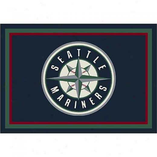 Milliken Seattle Mariners 11 X 13 Seattle Mariners Spirit Area Rugs
